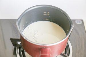 Ginger Milk Pudding Step 1
