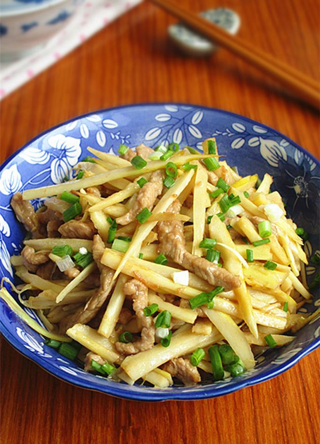 Bamboo Shoots Stri Fry